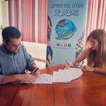 Image for the Tweet beginning: Firmamos un Convenio con @IpiapEcuador