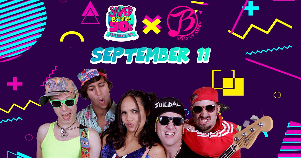 """Saved by the 90s returns with their covers of """"Wonderwall,""""""""...Baby One More Time,"""" """"Just a Girl,"""" """"Intergalactic,"""" + more September 11. Tickets on sale now: ow.ly/7Kqk50FYbot"""