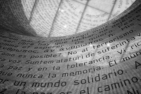 Monumento a las Víctimas del 11-M, Madrid, España. Foto: Maritè Toledo.