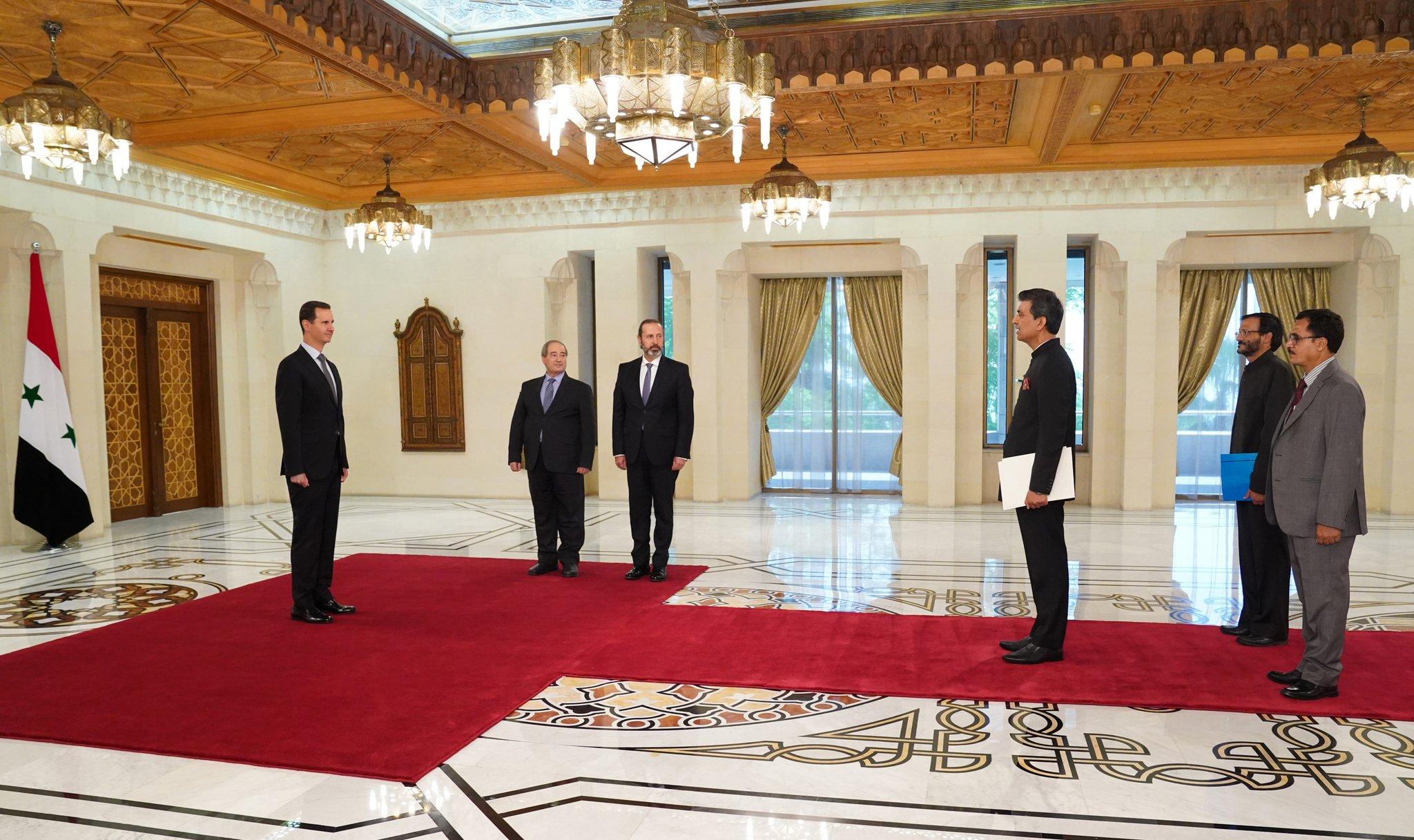 Indija i Srbija otvorili veleposlanstva u Damasku E9tqbcYWUAoJQfC?format=jpg&name=large