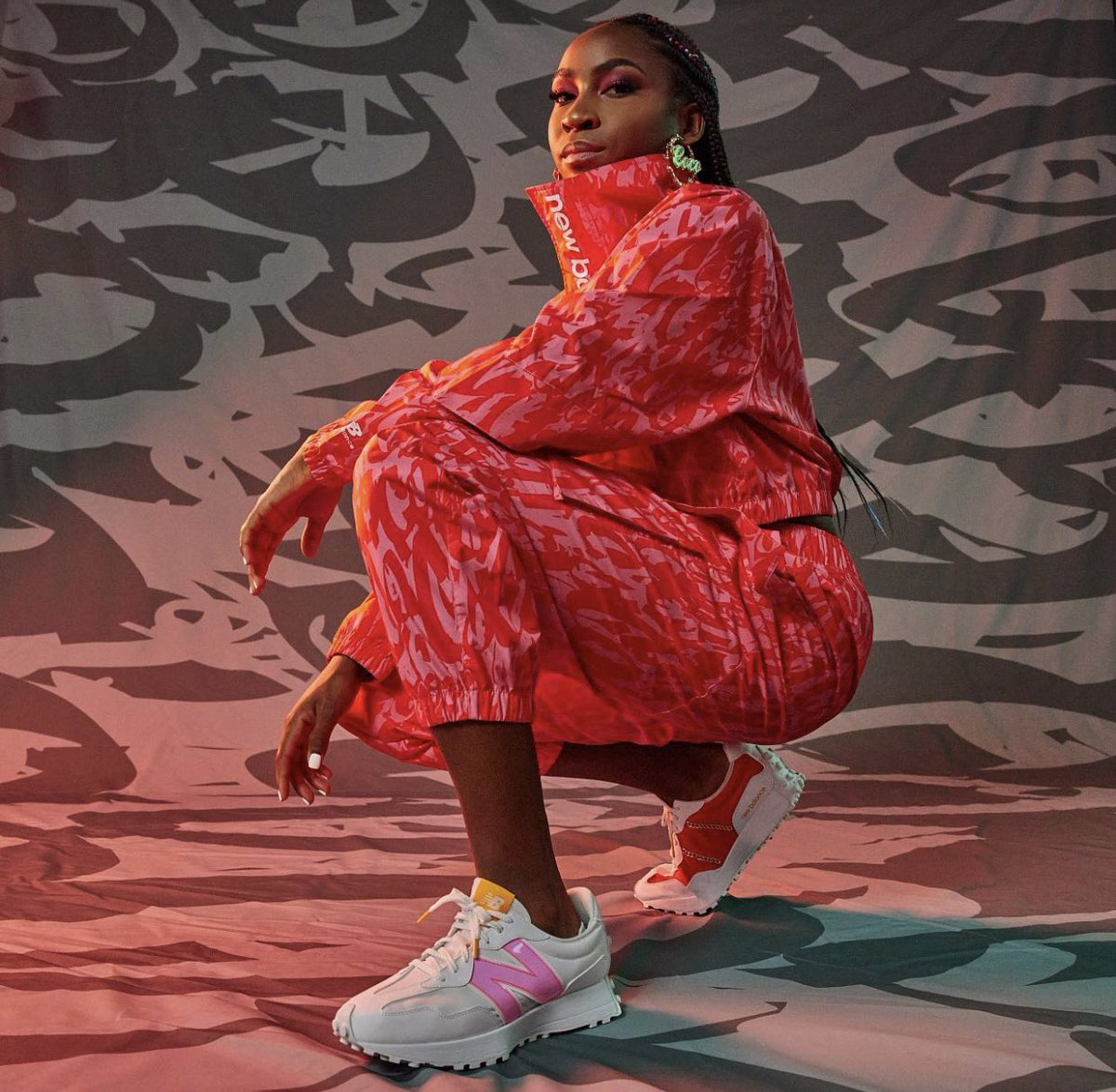 my first collection with new balance is out now!! click the link to shop 💗💗💗 newbalance.com/coco-gauff-col…