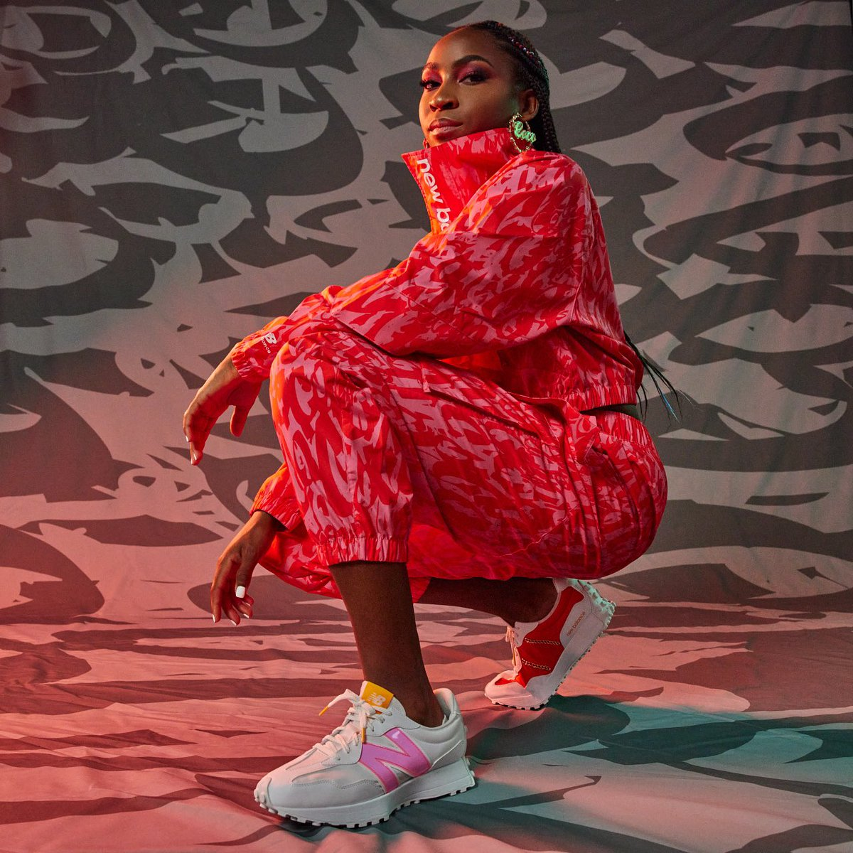 The @CocoGauff collection serving up '90s style. Available now: shop.newbal.co/tennis