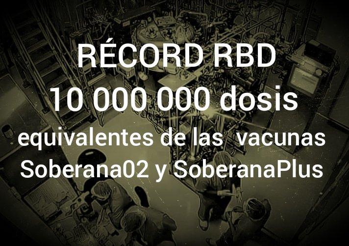 Cuba cuenta con ingrediente para producir diez millones de dosis de vacunas Soberanas