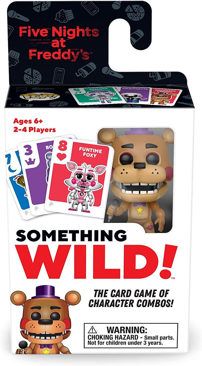 Five Nights at Freddy's - Funko Pop! Something Wild! pre-order on Amazon: