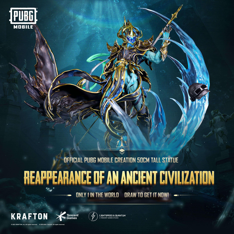 statue X-Suit Poseidon