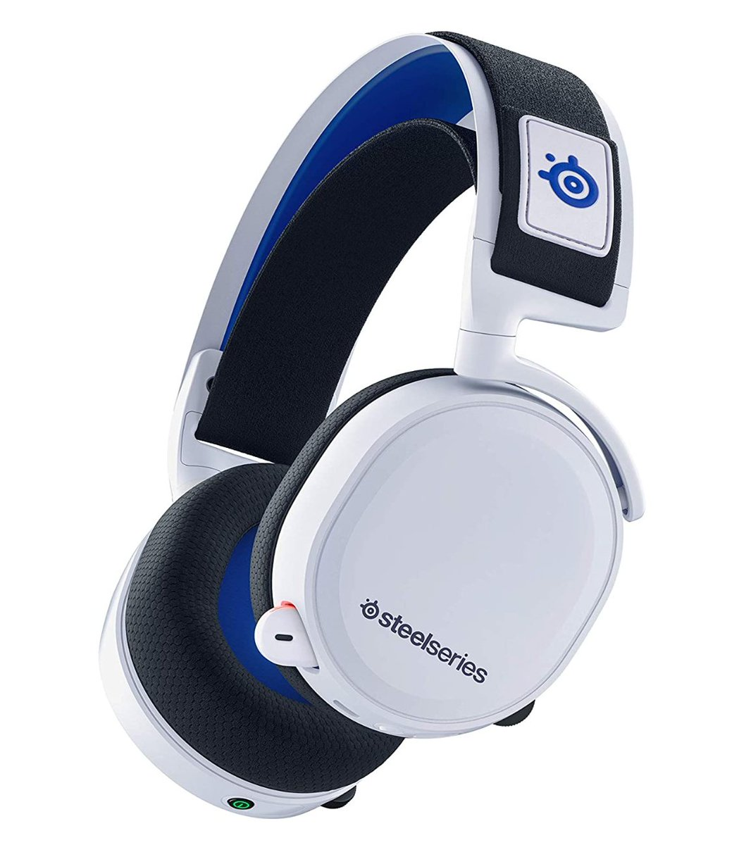 SteelSeries Arctis 7P White  Headset for PS5 & PS4 $149.99 Amazon 3