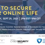Image for the Tweet beginning: In preparation for Cybersecurity Awareness