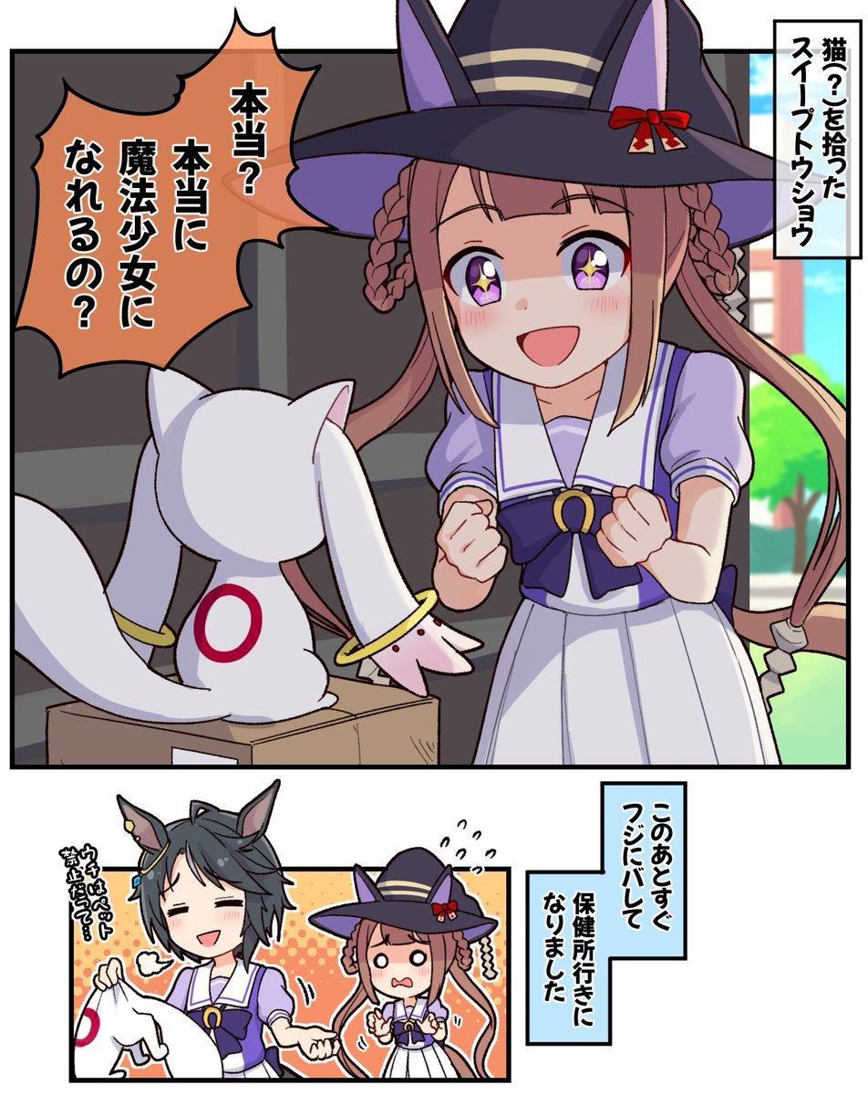 [馬娘] 撿到貓(?)的東商變革