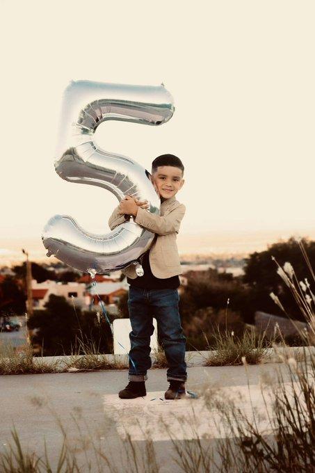 Happy 5th birthday to my big boy, I love you my love