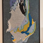 Image for the Tweet beginning: Compare: Felt geology map at