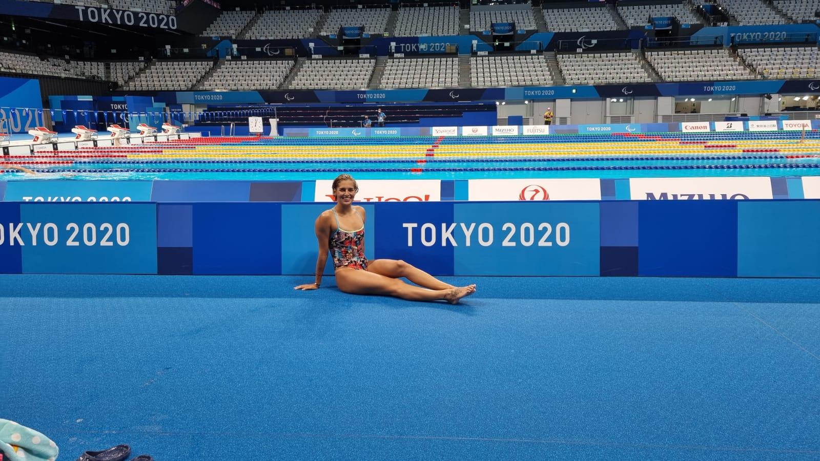 Michelle Alonso logra diploma olímpico en los Juegos Paralímpicos de Tokio