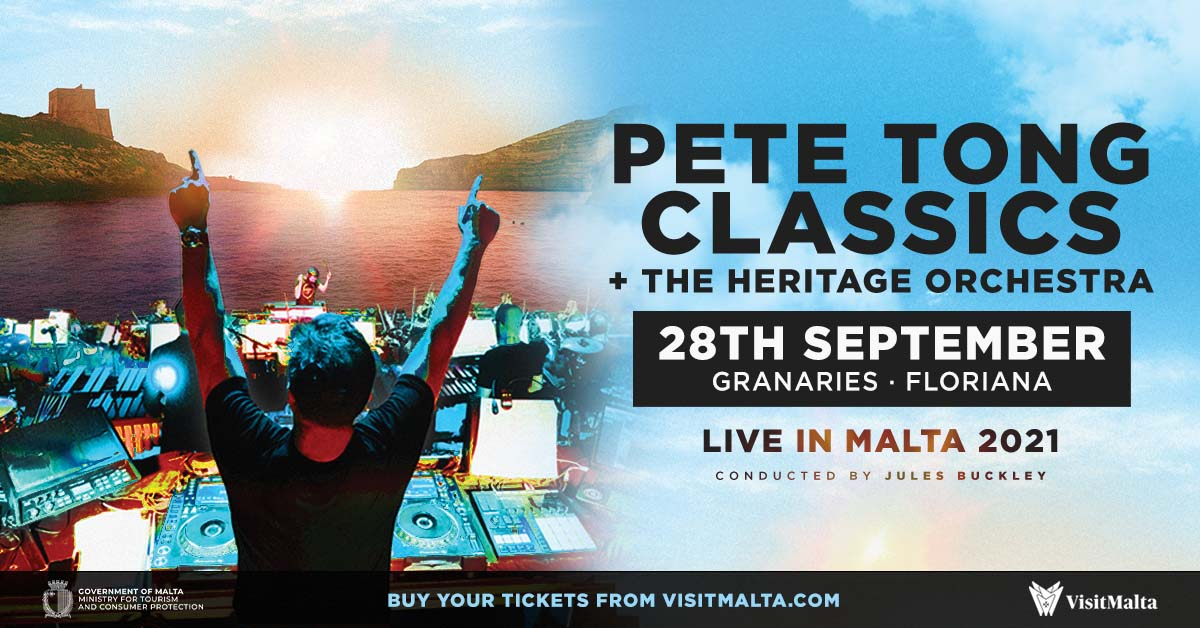 For 1 night only @IbizaClassics_ becomes Malta Classics! Next month, on 28th September we're bringing the full Classics show to the beautiful island of Malta, book tickets now from visitmalta.com @julesbuckley @HeritageOrc