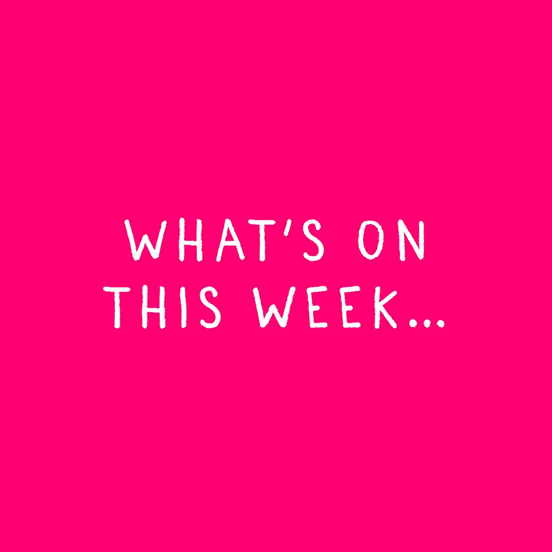 We have a variety of events on in the week ahead, including individual support which we provide every day. Call us on 01224 645928 to find out what's on and how we can help you 🧡