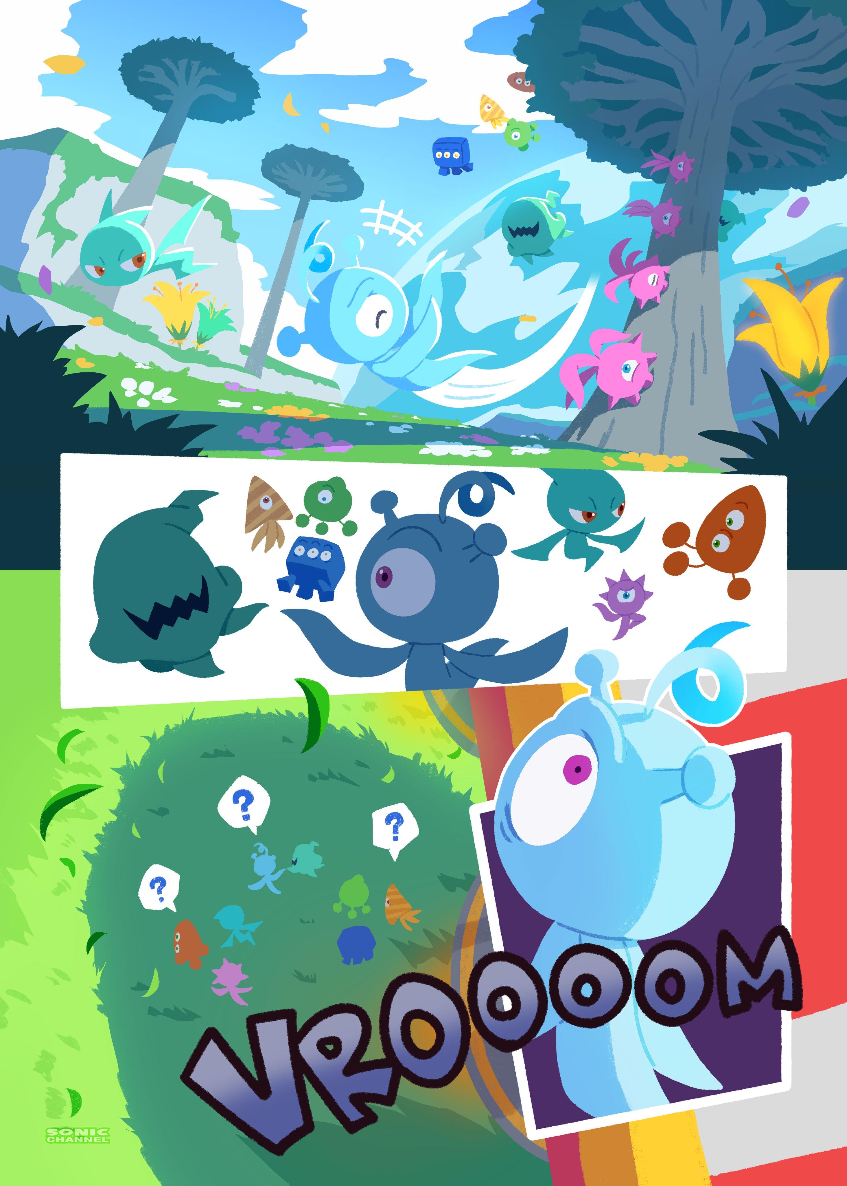Komiks promocyjny Sonic Colors Ultimate