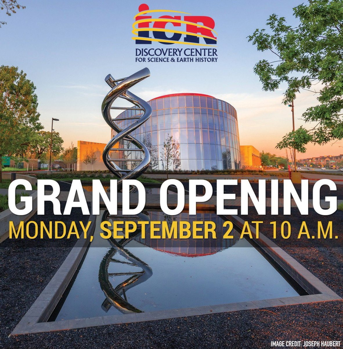 Image result for icr discovery center grand opening