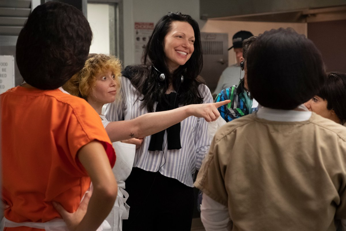 Did you know @nlyonne and @LauraPrepon were directors on #OITNB's final season? #FemaleFilmmakerFriday