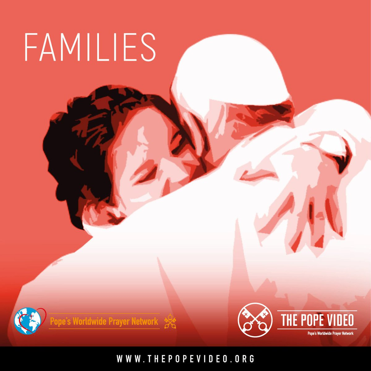 . #Families #ThePopeVideo