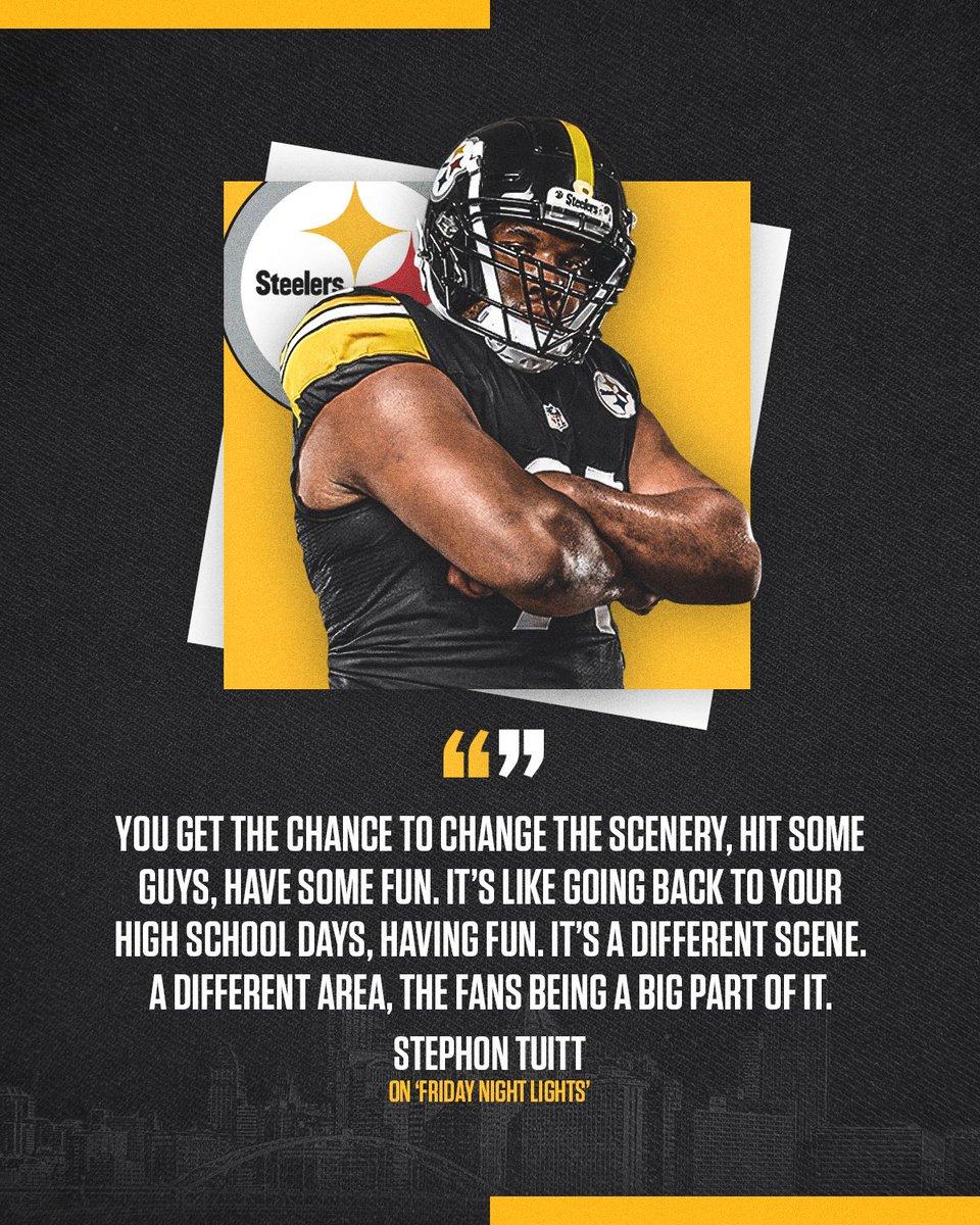 We're ready for #FridayNightLights‼️#SteelersCamp | @DOCnation_7