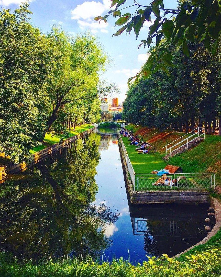 взяли себя самый красивый парк в москве летом фото высокое качество