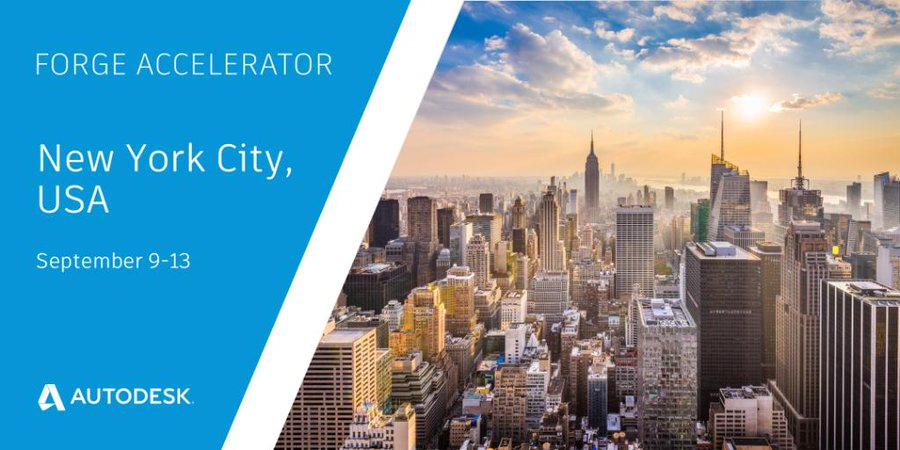 Build your Forge applications in New York City
