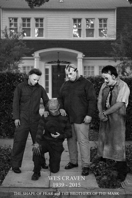 Happy Birthday Wes Craven! You are missed!