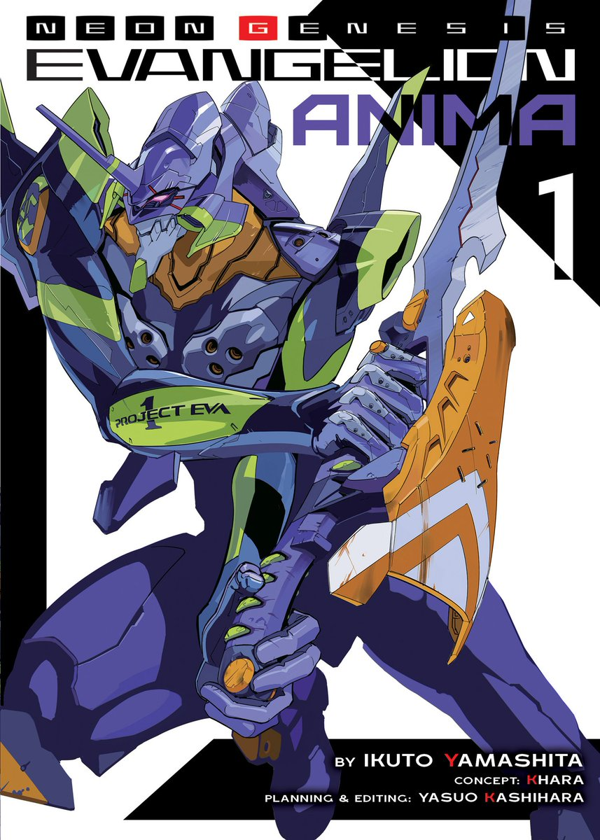 NEON GENESIS EVANGELION: ANIMA (LIGHT NOVEL) Vol  1 | Early