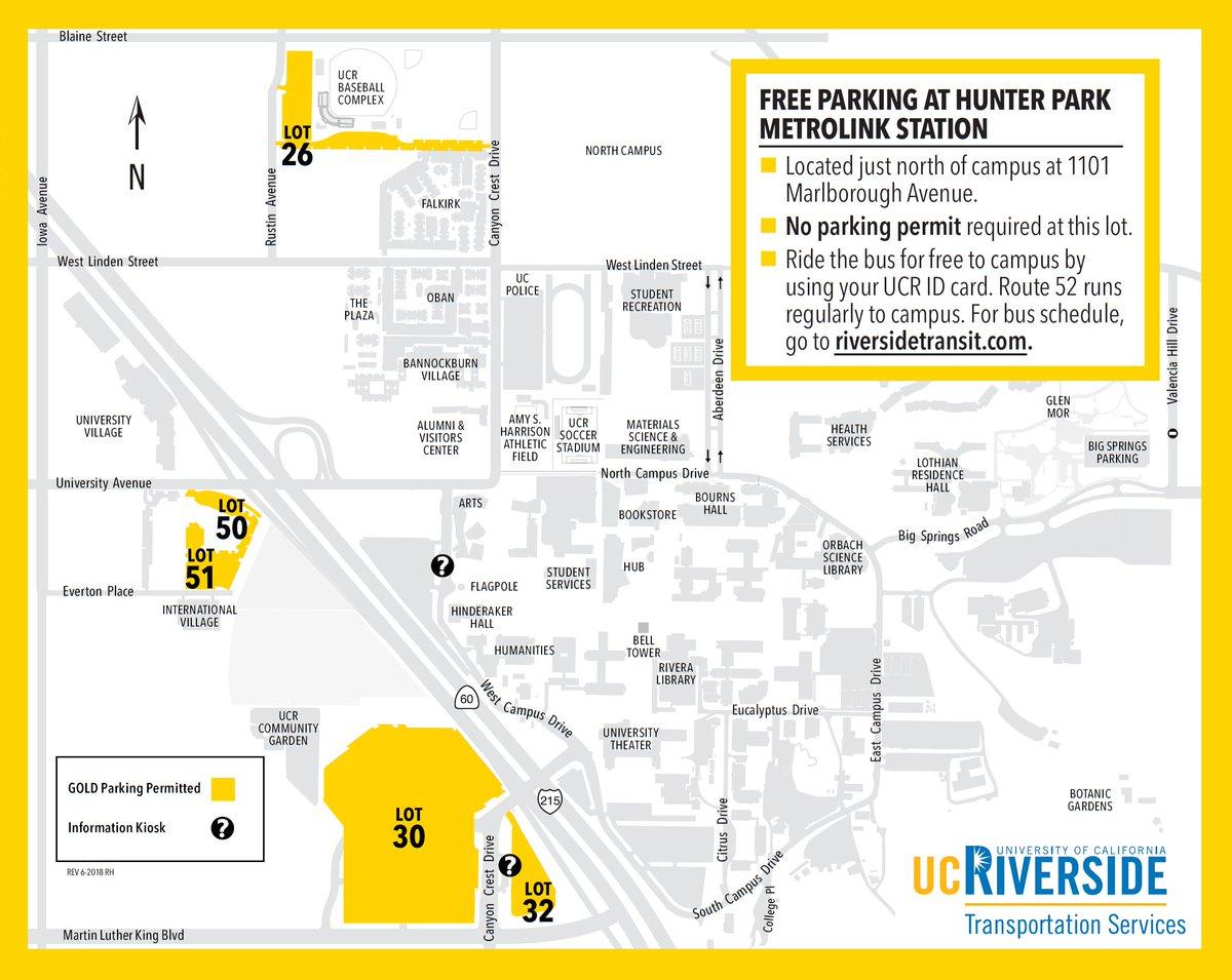 UCR Transportation Services on Twitter: \