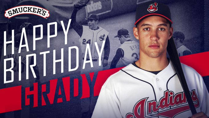 Are you a founding member of Grady\s Ladies?  If not, still join us in wishing Grady Sizemore a happy birthday!