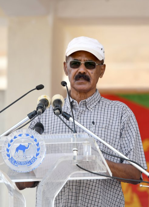 2019 Eritrea Sawa 25th Anniversary - PIA Speech, Military