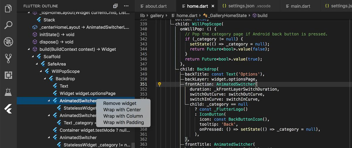 Dart & Flutter for VS Code (@DartCode) | Twitter