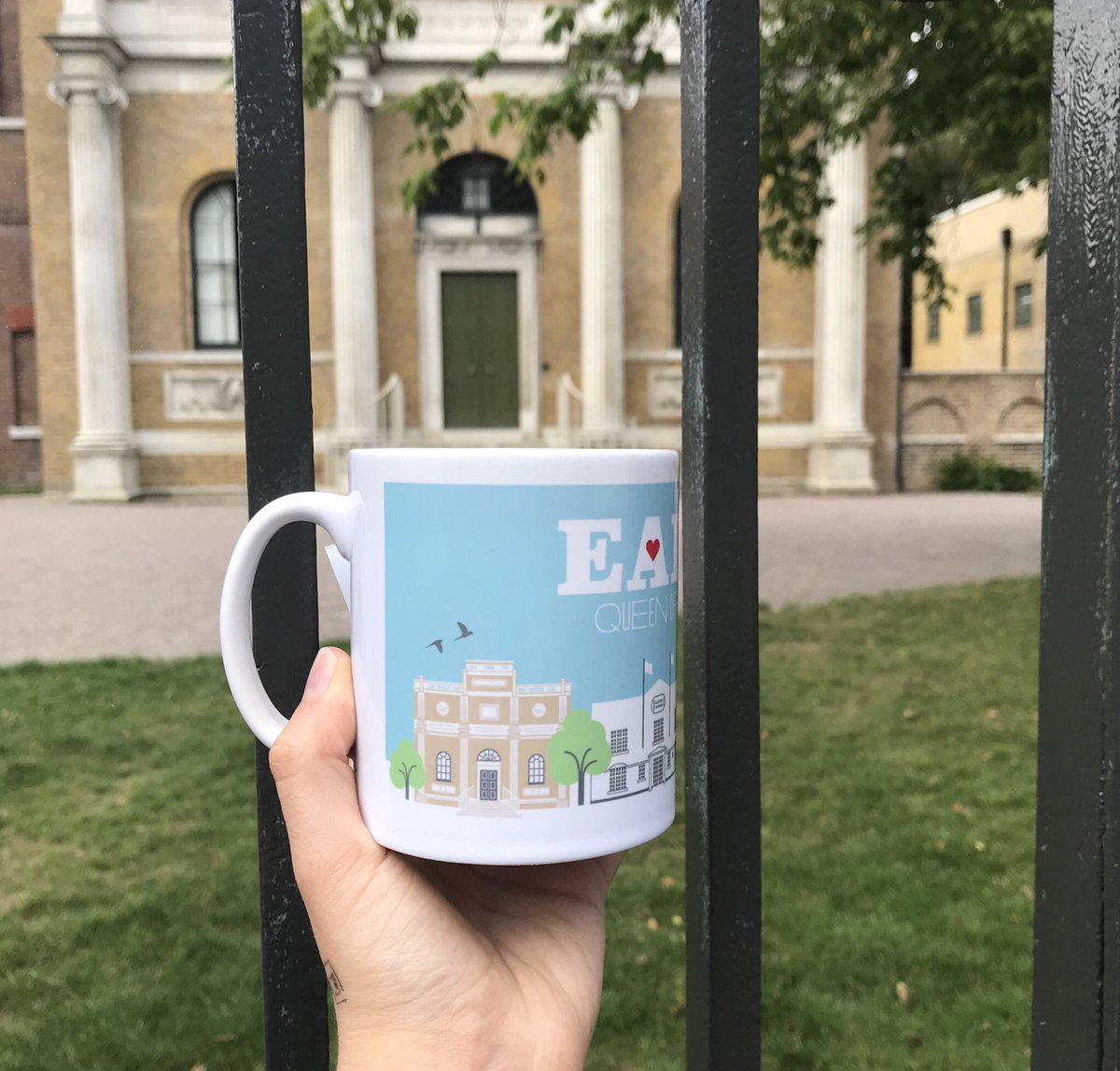 New Ealing mugs from the brilliant @CBerridgeStudio ☕️  . #mug #ealing #ealingmug #ealingstudios #pitzhangermanor #ealingtownhall #smallbusiness #localshop #lovelocal #supportlocal #localbusiness #ealing #ealinggreen #ealingfeeling #ealingbroadway #westlondon #alloriginal https://t.co/7Zdt0JcJn5