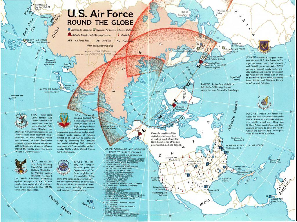 Simon Kuestenmacher On Twitter Cold War 1965 Map Shows U S