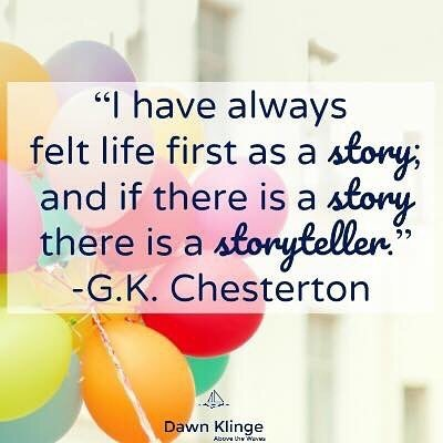 One thing I know: I'm not my own storyteller. God has that job, and he knows what he's doing. We're all a part of the bigger story- and I trust that it's going to be the greatest one ever told.  #gkchesterton #thegreatestlovestory #lifequotes #lifeisbeau… https://t.co/sUErWKdM42 https://t.co/LkHxn0q7sh