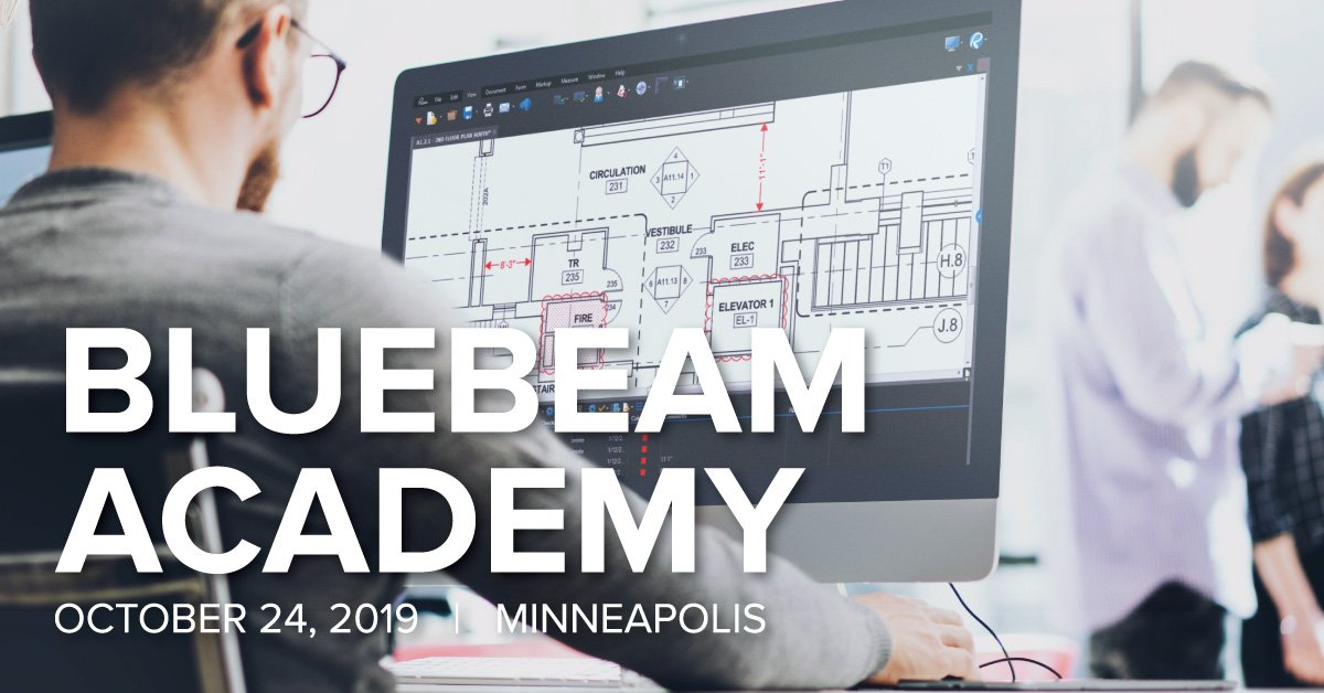 Image for the Tweet beginning: Save the date! Bluebeam Academy