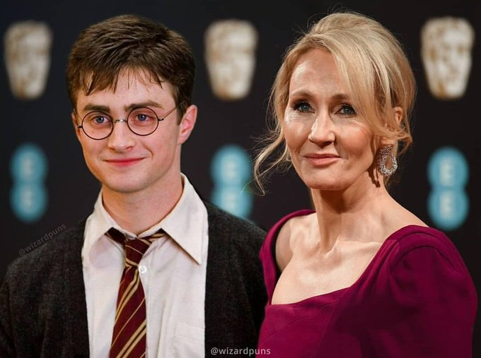 Happy birthday to Harry Potter and J. K Rowling