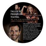 Image for the Tweet beginning: Intensivo: Producción Teatral con Gonzalo