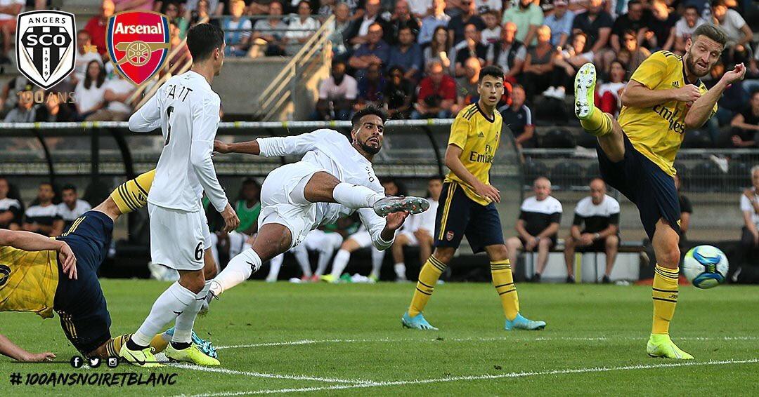 Angers SCO vs Arsenal photo Ouest MEDIAS Rachid Alioui