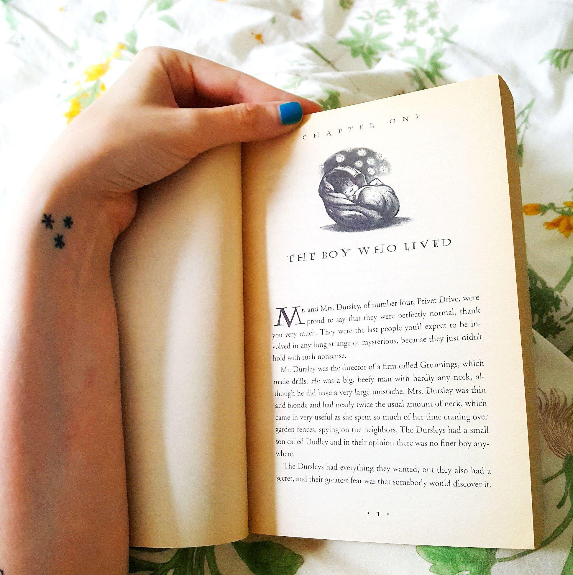 Happy birthday Harry Potter and
