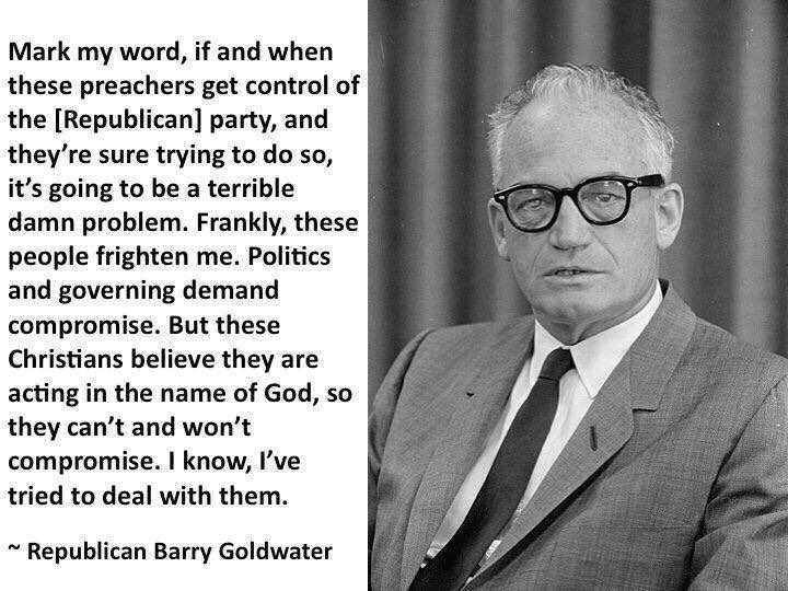 #Goldwater #GOP #Christians #ReligiousRight