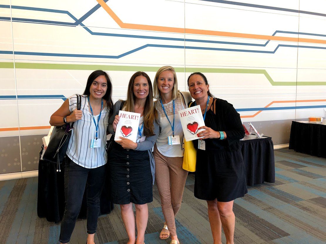This group at the San Jose PLC at Work Institute won copies of Heart! by @tkanold. Congratulations! #atPLC
