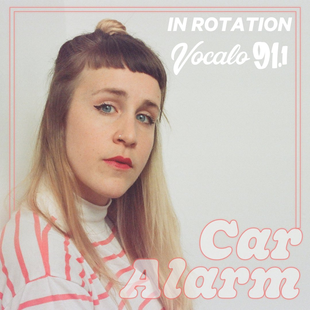 """Tune into @Vocalo today from 10-2 to catch """"Car Alarm"""" along with many other bangers #chisoundslike #inrotation<br>http://pic.twitter.com/OQ8K5pbNtL"""