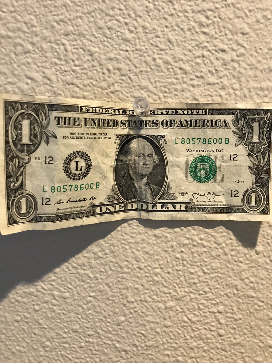 That dollar now hangs up in my office in plain sight, and every time I think about whether I can be charitible or giving in a situation, I know that if Zooey can gift a dollar, I can give something.