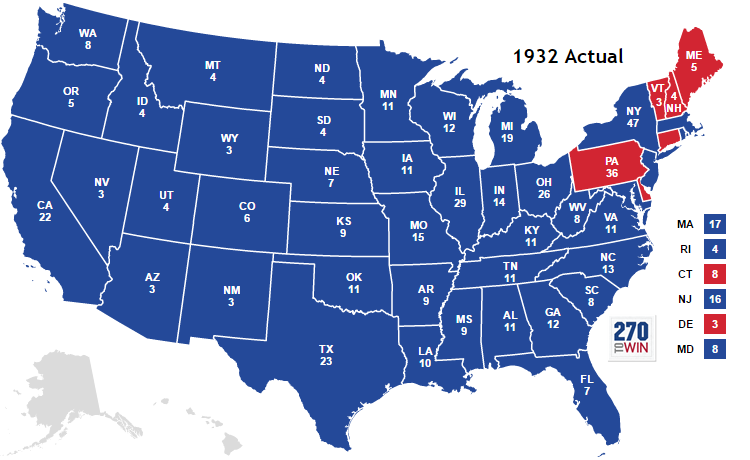 @SlavicLady88 A LITTLE HISTORY LESSON: Despite winning only 8 states in 1932 after three years of deep Depression, Herbert Hoover still won 40% of the popular vote. #DemDebate #DemDebates #ThereWillAlwaysBeDumbRepublicans