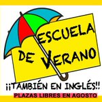 "Image for the Tweet beginning: En agosto más ""Escuela de"