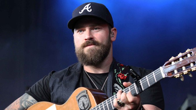Cake and a little bit of chicken fried... Happy birthday, Zac Brown of the 41 today. (7/31)