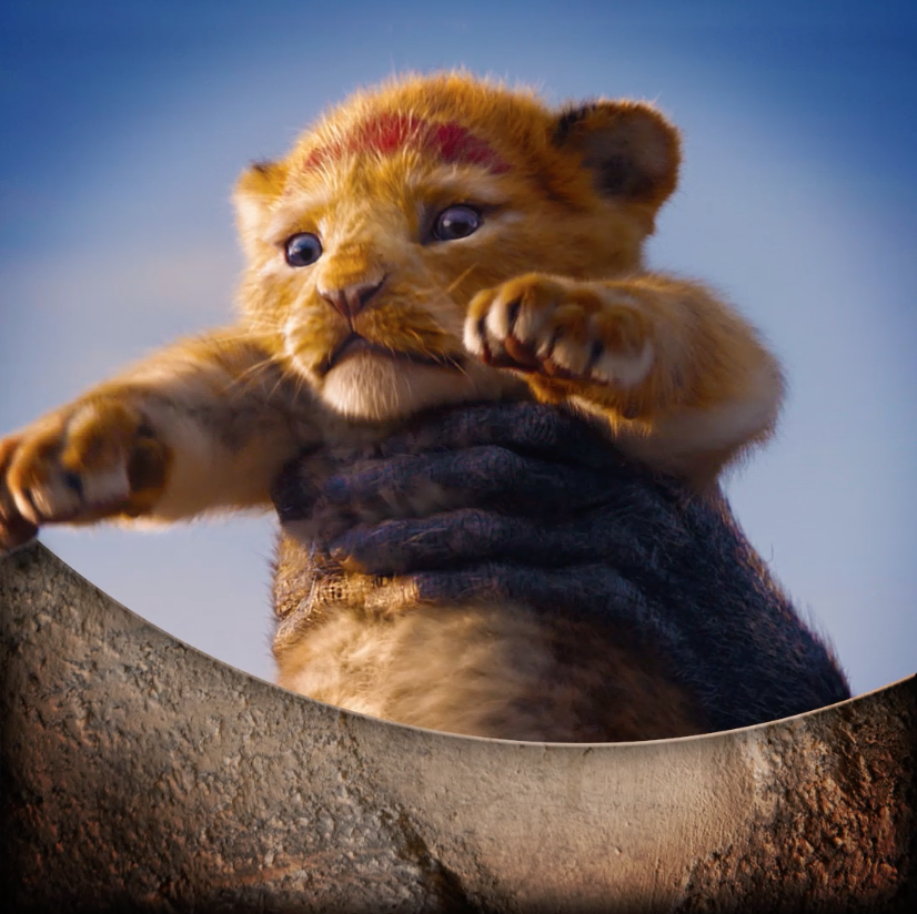 The king has arrived. See #TheLionKing in theatres now!