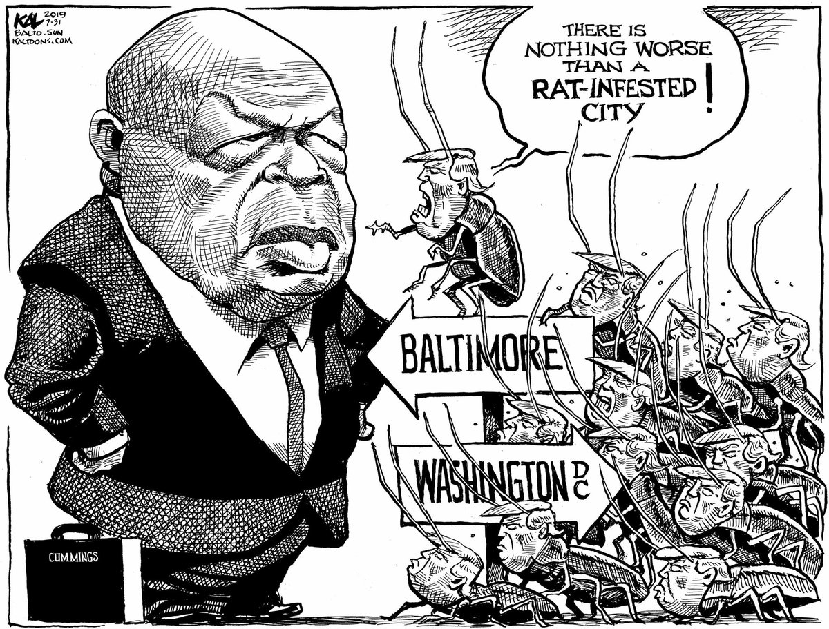 Political Cartoon On Twitter Kal On Infested Cities From
