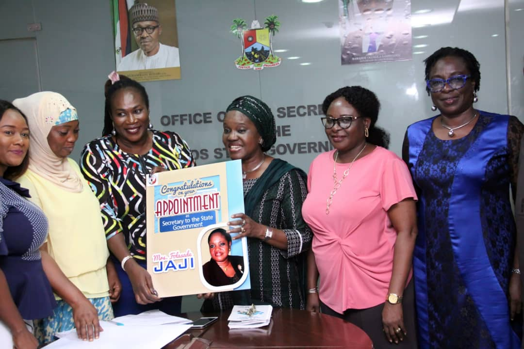 The Lagos State Govt On Twitter Courtesy Visit To The Secretary To The Lagos State Government By Nigeria Association Of Women Journalists Nawoj Led By Its Chairperson Adeola Ekine Recently At Alausa