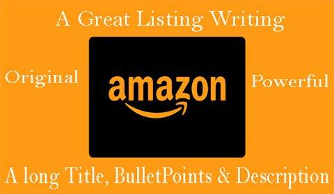 Write original and unique #amazon #products #listing #description with a long Title, 5 large & attractive Bullet points, informative & focusing Description & keywords. #copywriting #copywriter #webcopy #amazonseller #AmazonPrimeDay   Visit for details >>  https://www. fiverr.com/share/pvLEE     <br>http://pic.twitter.com/RlVWMjKn7o