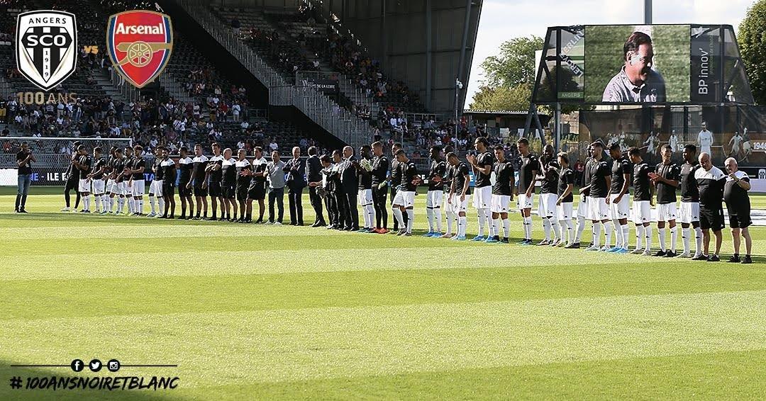 Angers SCO vs Arsenal photo Ouest MEDIAS groupe pro saison 2019 2020